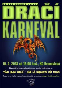 plakát dračí karneval