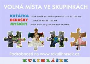 plakát volná místa v Kulirášku